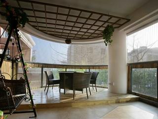 123平新古典样板房欣赏阳台