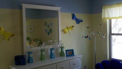 简约风格别墅效果图儿童房装饰