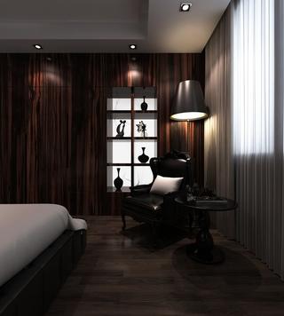 雅致新中式住宅欣赏卧室局部