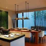 新中式风格餐桌陈设