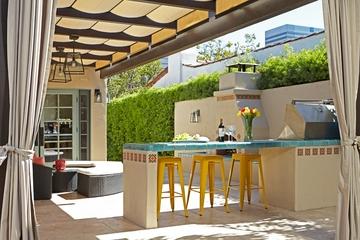 现代装饰别墅设计欣赏吧台