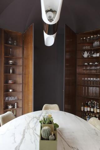 现代中性主题公寓欣赏餐厅设计图