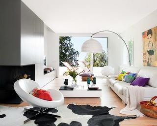 现代极简白色别墅欣赏