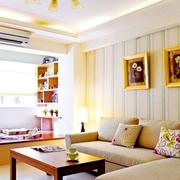 53平温馨简约一居室欣赏