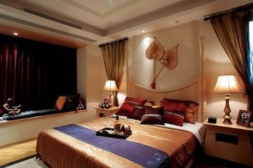 东南亚温馨住宅欣赏卧室陈设