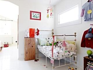 89平白色简约三居欣赏儿童房