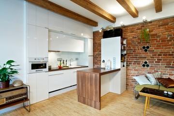白色乡村田园风住宅欣赏厨房
