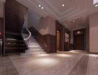 118平新古典三居室欣赏客厅吊顶设计