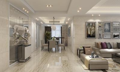 87平时尚现代三居室公寓
