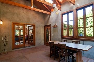 224平美式温馨住宅欣赏客厅局部