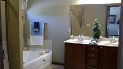 简约风格别墅效果图浴缸