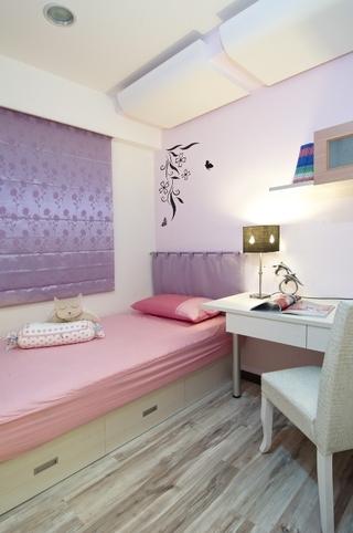 102平简约三居室欣赏儿童房设计