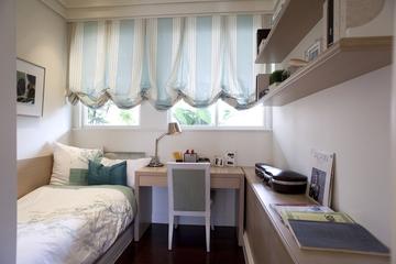 新古典三居室样板房案例欣赏儿童房窗帘