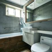 82平现代两室两厅欣赏卫生间设计
