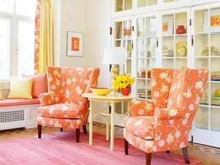 橙色浪漫家居欣赏