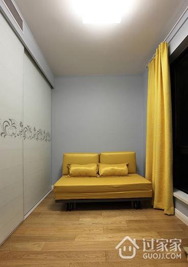 卧室窗帘装饰效果图 简约不失个性