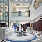欧式风格套图效果客厅背景墙设计