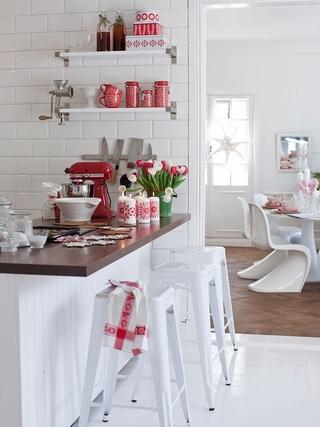 田园风格温馨住宅欣赏厨房