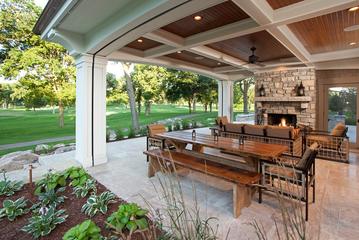 高端大气美式别墅欣赏庭院