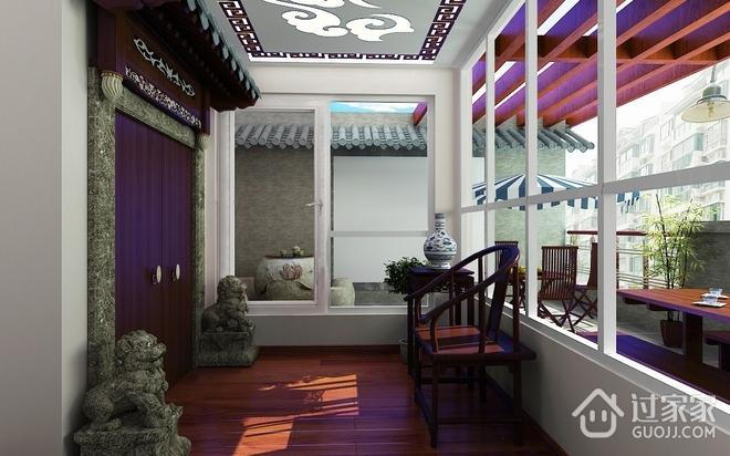 中式古典别墅住宅欣赏庭院