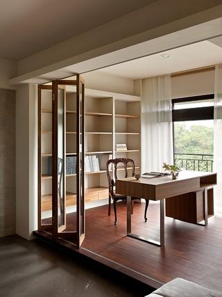 现代中式套图阳台设计