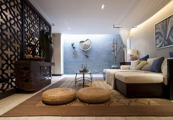东南亚写意两居室欣赏