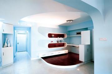 个性化客厅书架设计 不再单调的家居