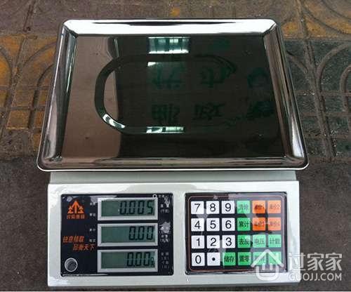 电子桌秤的分类与特点