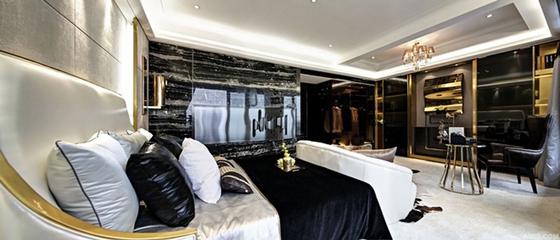 新古典样板间设计欣赏卧室局部