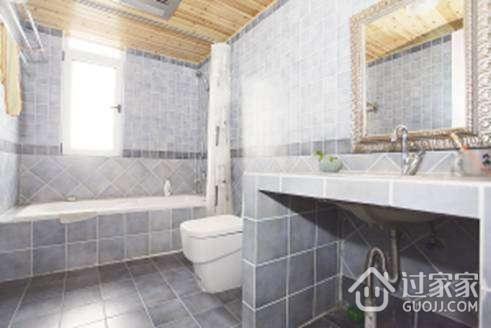 卫生间砖砌洗手台的安装方法