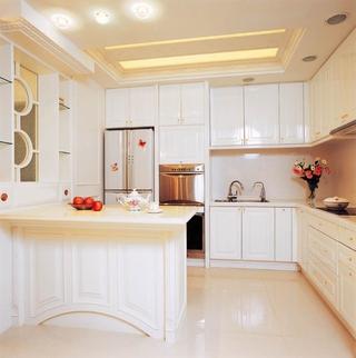 低调气质新古典住宅欣赏厨房吊顶