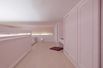粉色淡雅简约住宅欣赏卧室