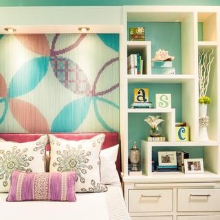 美式住宅效果套图设计卧室背景墙