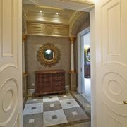 新古典别墅过道橱柜