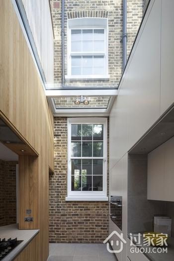 现代与传统住宅结合欣赏过道效果