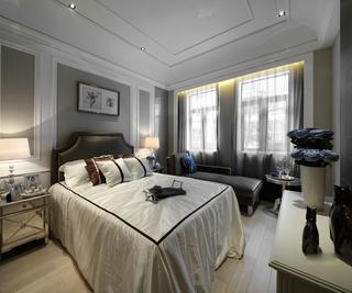 欧式经典别墅欣赏卧室设计