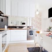 85平北欧风格两居室欣赏厨房