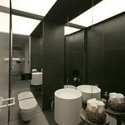 现代风格设计卧室卫生间效果