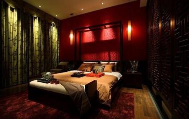 雅致中式住宅欣赏卧室陈设