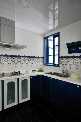 浪漫地中海住宅欣赏厨房橱柜