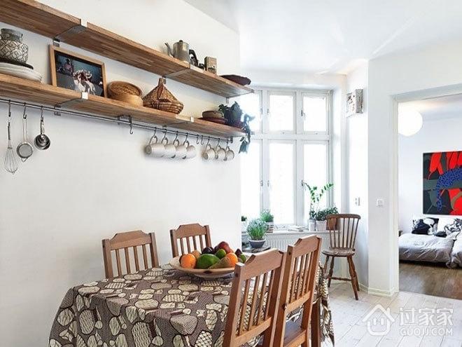 北欧民族风效果图欣赏餐厅_过家家装修效果图