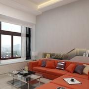 现代客厅窗户装修效果图 打造极简家居