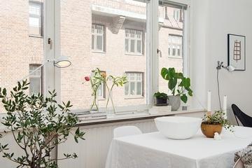 70平魅力北欧住宅欣赏餐厅陈设