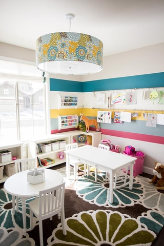 简约风格住宅套图儿童游戏室