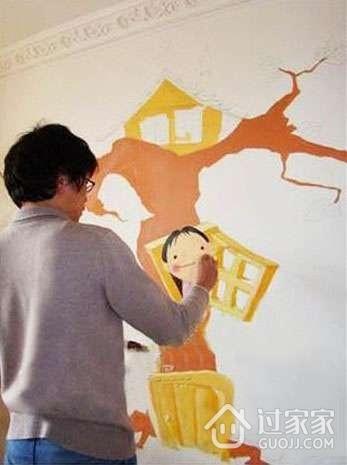 墙绘流程介绍 墙体彩绘七大步骤