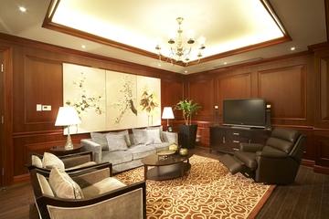 复试欧式风格设计会客厅