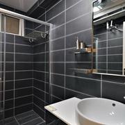 现代风格住宅套图卫浴间图片