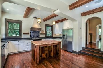 美式装饰效果图设计厨房全景陈设