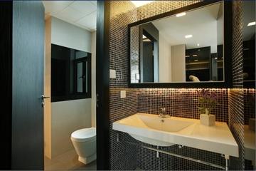 113平现代三室两厅欣赏卫生间