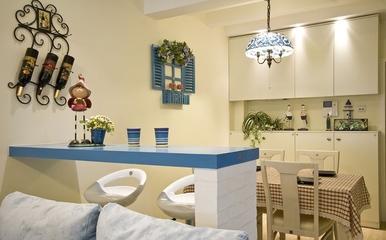 92平地中海温馨住宅欣赏客厅陈设